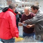 Български и румънски представители от сектор рибарство